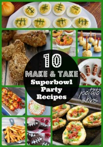 Thumbnail image for Easy Make and Take Superbowl Party Recipes