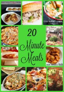 Thumbnail image for Twenty Minute Meals
