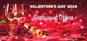 Thumbnail image for Valentine's Day Restaurant Offers