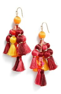 Kate Spade tassel earrings