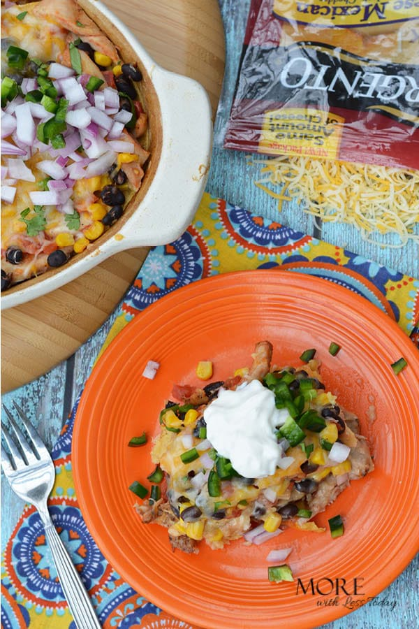 Four Cheese Mexican Bake Easy Dinner And Potluck Favorite
