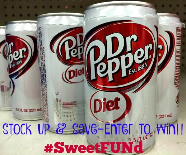 #SweetSpringFUNd contest Diet Dr Pepper