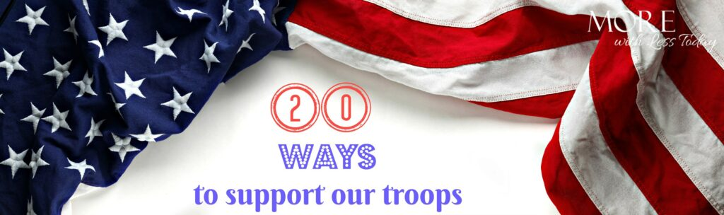 We found 20 ways to honor veterans beyond Memorial Day with simple acts of kindness and ways to help our troops and their families.
