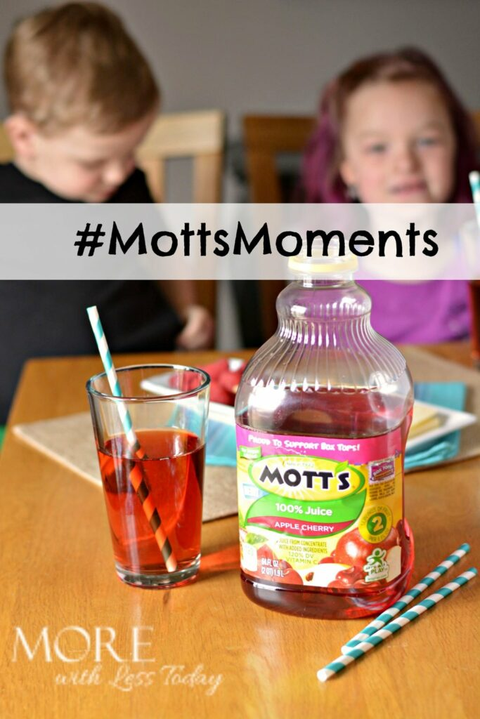 #MottsMoments new Apply Cherry Juice