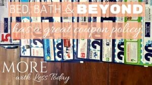 Thumbnail image for Bed, Bath & Beyond Has a Great Coupon Policy