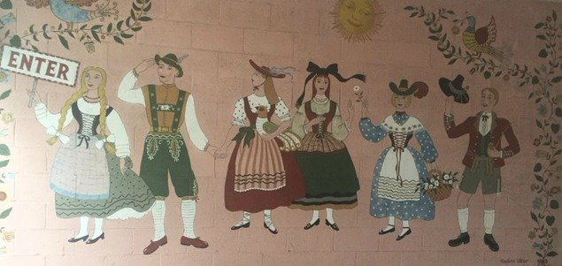 mural at Hofsas House