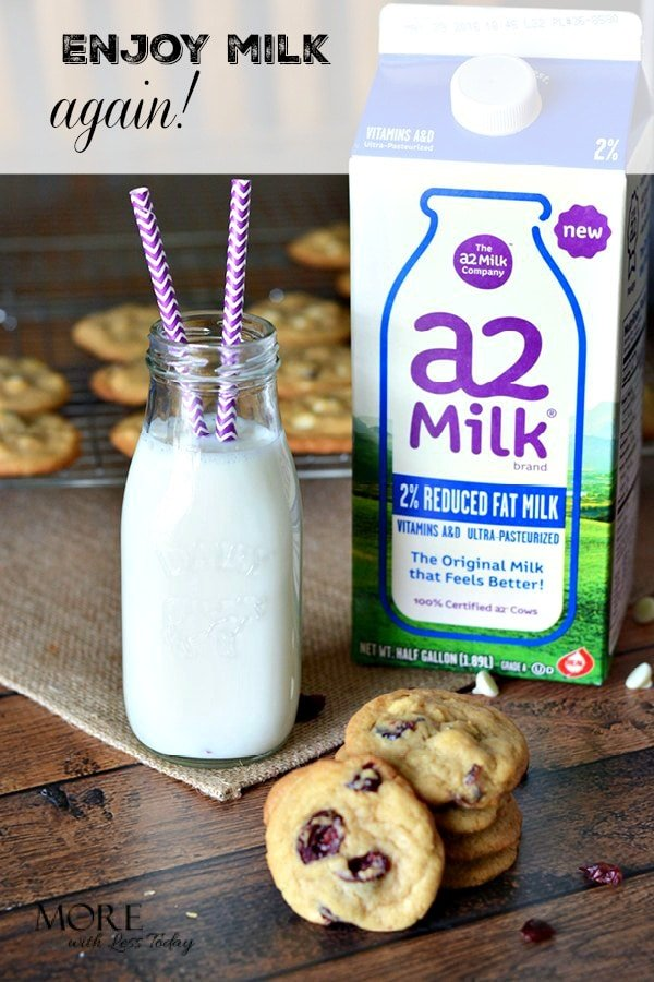 Do you have digestive issues when you drink milk? Get information about a2 Milk. It's from cows that produce it without the A1 protein.