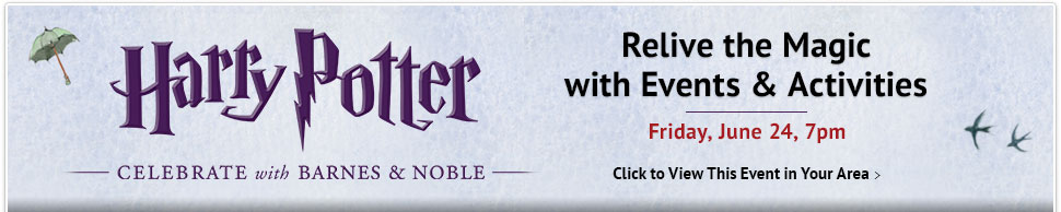 harry potter event at barnes and noble