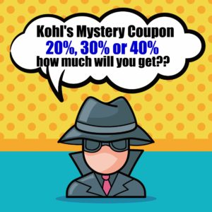 Thumbnail image for Kohl's Mystery Coupon Offer – Get Up to 40% Off Today