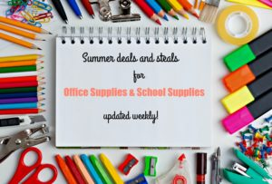 Thumbnail image for Summer Deals and Steals for Office Supplies