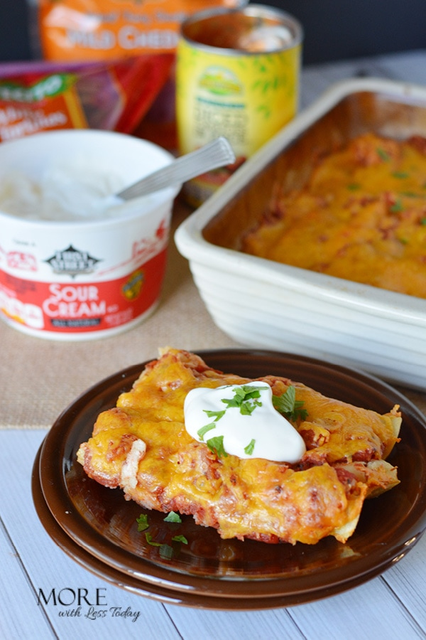 How to make chicken enchiladas ahead of time