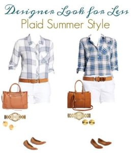 Thumbnail image for Get the Designer Look for Less – Plaid Summer Style