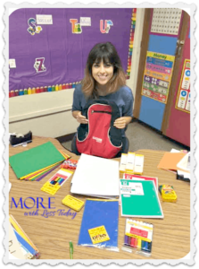 Thumbnail image for Donated School Supplies from Classroom Direct Made This Teacher Happy!