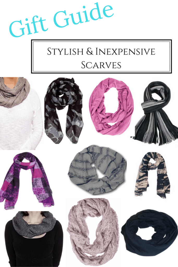 Are you looking for an inexpensive and stylish gift? We found 12 beautiful scarves that will change up an outfit and look great on everyone.