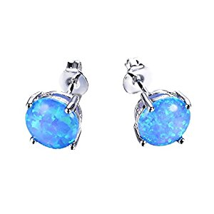 junxin-7-4mm-925-white-gold-round-cut-blue-fire-opal-sterling-silver-earring-stud
