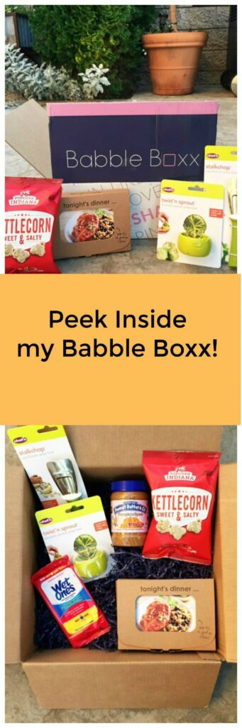 Peek inside my Babble Boxx for quick kitchen fixes and some delicious products to enjoy with your family and speed up your kitchen prep time. AD