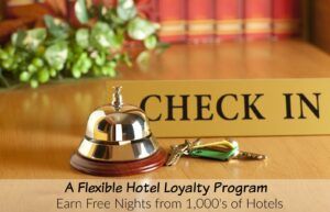 If you are looking to earn free nights from a hotel reward loyalty program, then take a look at Hotels.com. They have over 10,000 deals to choose from.