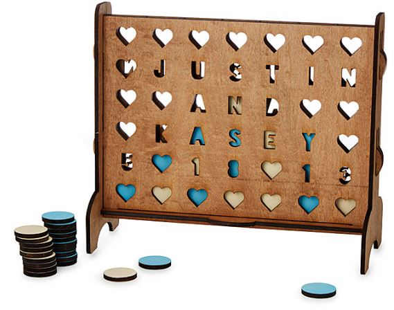 like Connect 4 game personalized from Kathie Lee and Hoda