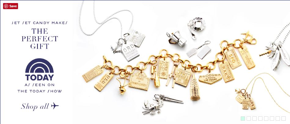 Jet Set Charms seen on Kathie Lee and Hoda