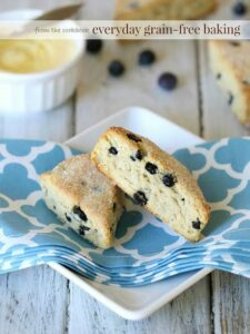 Blueberry Lemon Scones - By- Delicious Obsessions