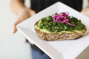 Kale Avocado Toast - By- The Organic Kitchen