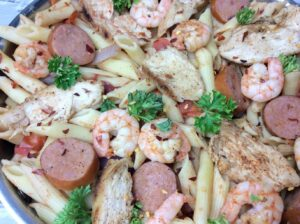 shrimp and cajun pasta recipe