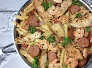 new pasta recipe spicy cajun pasta