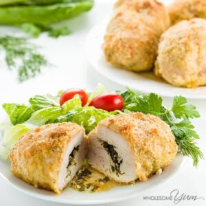 Baked Chicken Kiev recipe photo