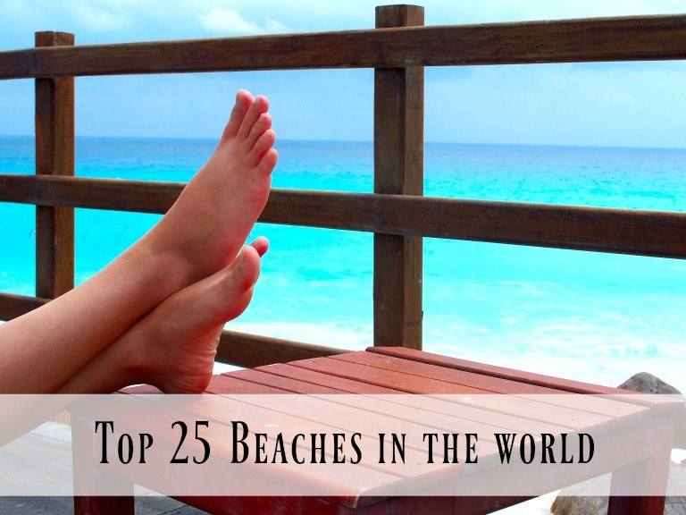 Are you dreaming of a beach vacation? Here are the top beaches in the world, recommended by TripAdvisor. Daydream with me!