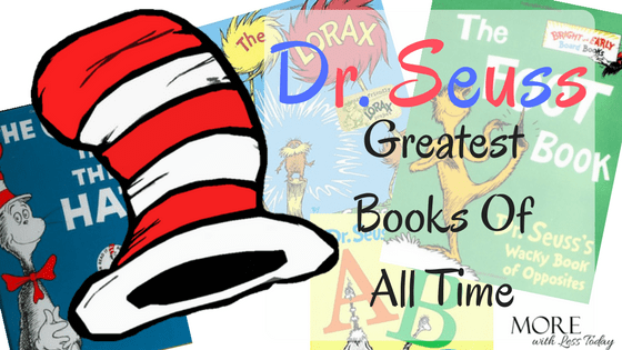 How many Dr. Seuss best books of all time do you have? Which one is your favorite? I love to give these books to new parents.