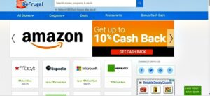 cash back site for Amazon