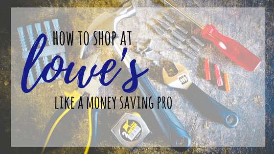 We show you how to shop at Lowe's like a money saving pro by sharing our expert tips. Be sure and check these money-saving tips for Lowe's.