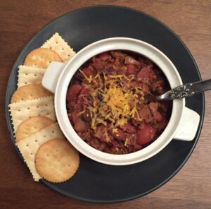 Chili with Canned Beans recipe made in an Insta Pot - By- Mash Up Mom