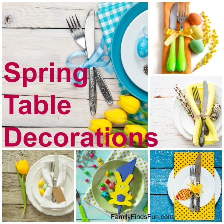 If you are looking to add flair to your table, here is easy Easter table decor you can put together fast using a few simple elements.