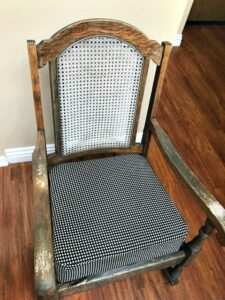 old rocking chair Lowe's paint