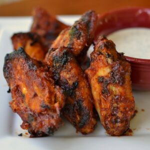 favorite grill recipes honey bbq siracha wings