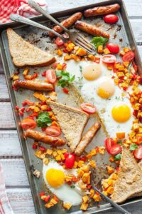 Sheet Pan Full Breakfast from Imagelicious