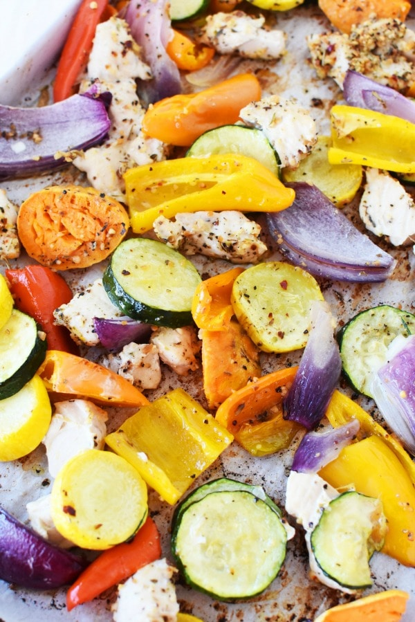 Daniel Plan Sheet Pan Chicken Vegetables from Sizzling Eats