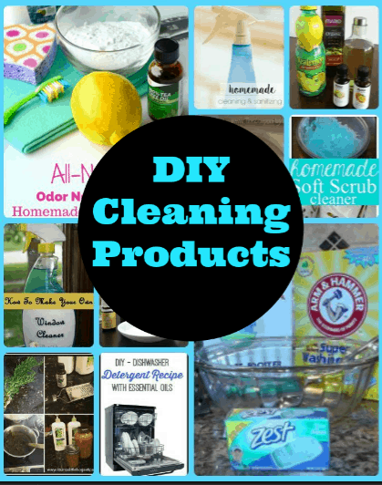 "DIY Cleaning Products ""recipe"" roundup"