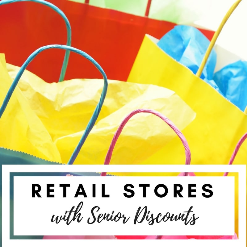 Did you know there are retail discounts for seniors and baby-boomers? See our list update for 2018 and snag your retail discounts at your favorite stores. You might be surprised at what age these senior discounts begin!