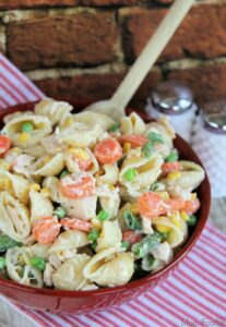 Chicken Dinner Pasta Salad: Easy Weeknight Recipe from Mom Foodie