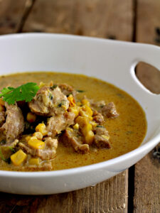 30 Minute Chicken Corn Chowder Recipe from Wanna Bite