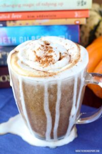 Vegan Pumpkin Spice Latte from The Rising Spoon