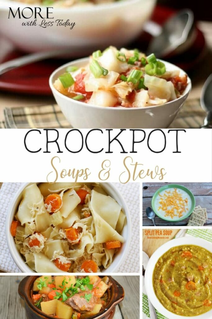 If you are looking for some quick recipes to get good food on table fast, check out these easy crockpot soups and stews; delicious recipes to come home to.