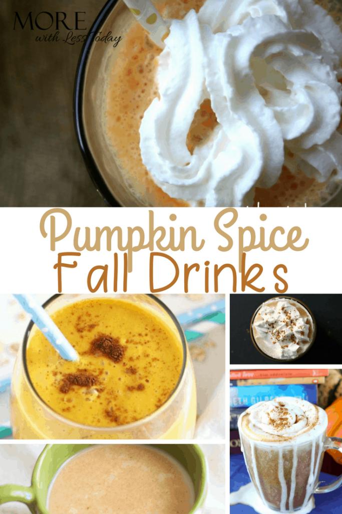 Pumpkin Spice drinks