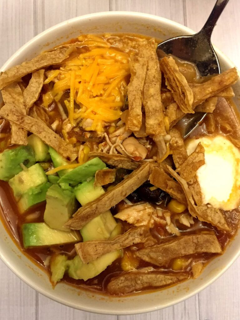 Mexican Chicken Tortilla Soup by Melanie Cooks