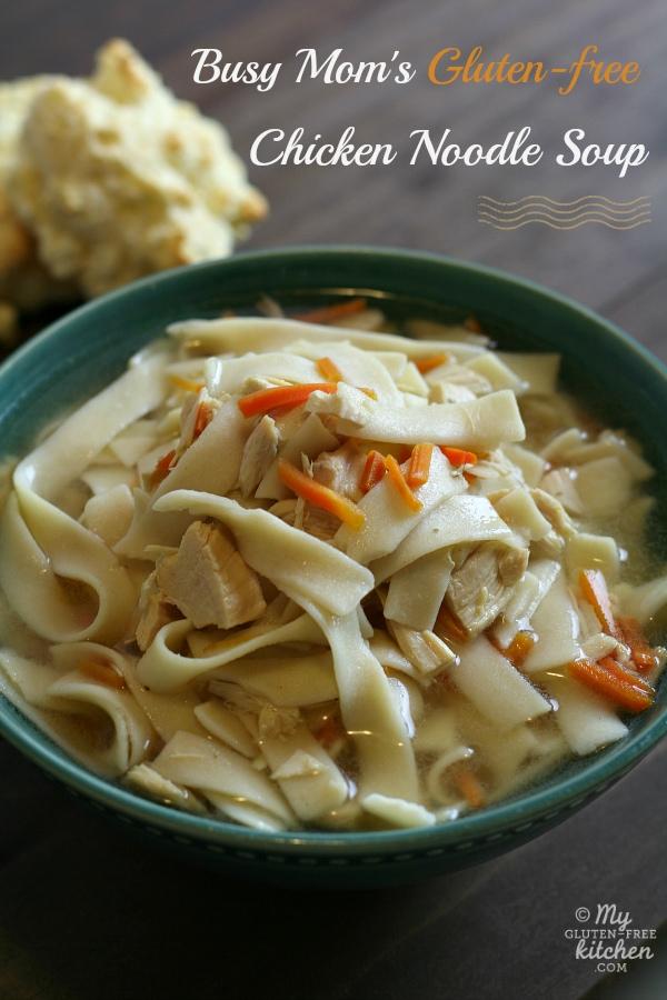 Slow Cooker Chicken Noodle Soupby My Gluten-Free Kitchen