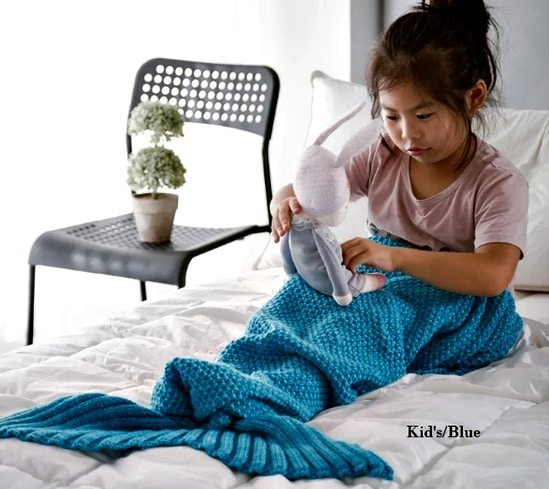 Mermaid tail blanket Overstock