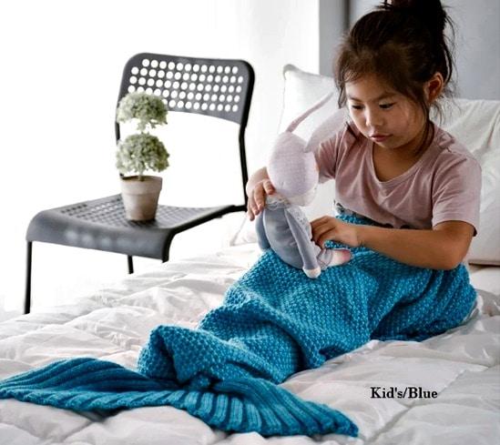 Mermaid tail blanket Overstock