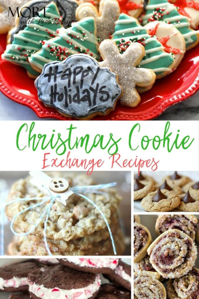 Looking for Christmas Cookie Exchange Recipes? Here are 15 Christmas cookie recipes that everyone loves. Which ones will you try?